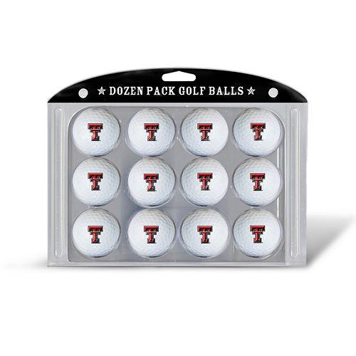 Team Golf Texas Tech Red Raiders 12-Pack Golf Balls