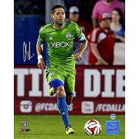 Steiner Sports Seattle Sounders Clint Dempsey Dribbling Signed 8