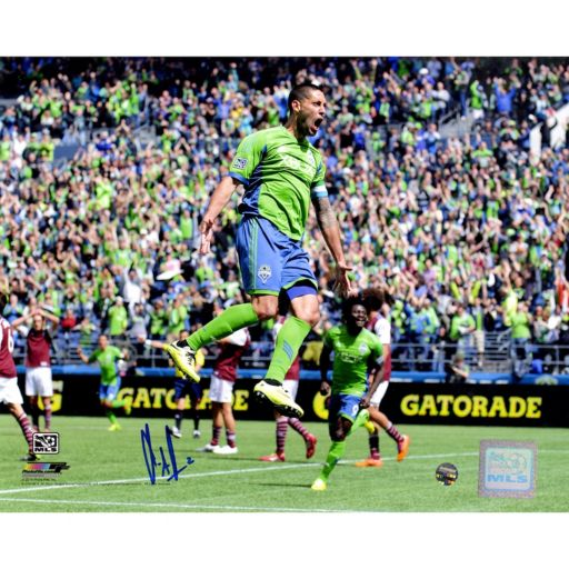 "Steiner Sports Seattle Sounders Clint Dempsey Signed 8"" x 10"" Photo"