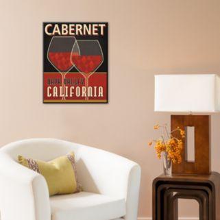 "Art.com ""Cabernet"" Wall Art"