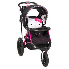 Hello Kitty Pin Wheel Calypso Jogger Stroller by Baby Trend  by