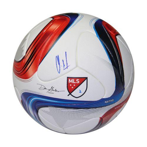 Steiner Sports Clint Dempsey Signed Adidas MLS 2015 Nativo Official Match Ball