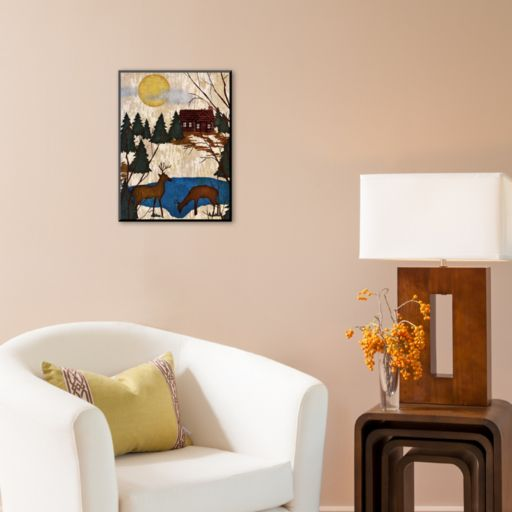 "Art.com ""Cabin in the Woods I"" Wall Art"