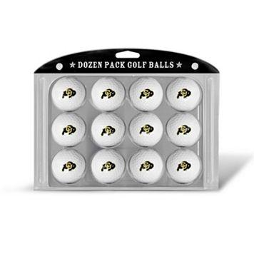 Team Golf Colorado Buffaloes 12-Pack Golf Balls