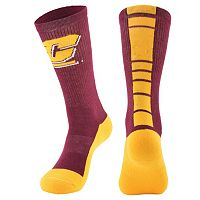 Men's Mojo Central Michigan Chippewas Champ 1/2-Cushion Performance Crew Socks