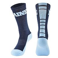 Men's Mojo Maine Black Bears Champ 1/2-Cushion Performance Crew Socks