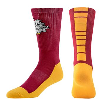Men's Mojo Minnesota - Duluth Bulldogs Champ 1/2-Cushion Performance Crew Socks