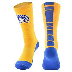Men's Mojo San Jose State Spartans Champ 1/2-Cushion Performance Crew Socks