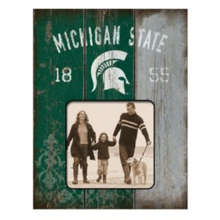"""Legacy Athletic Michigan State Spartans Weatherboard 4"""" x 4"""" Picture Frame"""