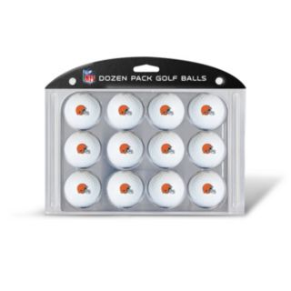 Team Golf Cleveland Browns 12-Pack Golf Balls