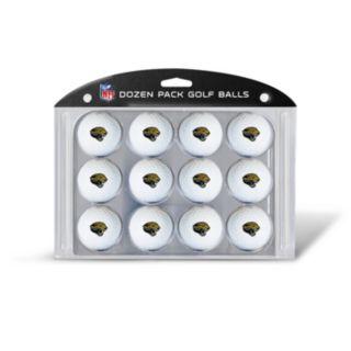 Team Golf Jacksonville Jaguars 12-Pack Golf Balls