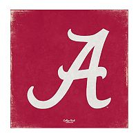 Legacy Athletic Alabama Crimson Tide Square Canvas Wall Art