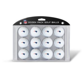 Team Golf New England Patriots 12-Pack Golf Balls
