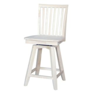Mission Swivel Counter Stool