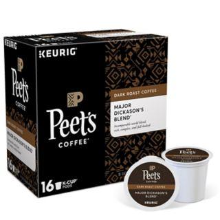 Keurig K-Cup Portion Pack Peet's Coffee Major Dickason's Blend - 16-pk.