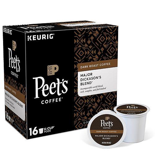 Keurig® K-Cup® Portion Pack Peet's Coffee Major Dickason's Blend - 16-pk.