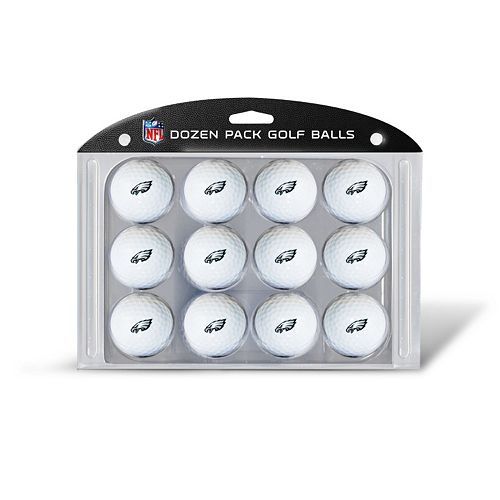 Team Golf Philadelphia Eagles 12-Pack Golf Balls