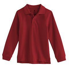 Boys 4-7 Chaps Pique School Uniform Polo