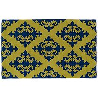 Kaleen Evolution Damask Wool Rug - 8' x 11'