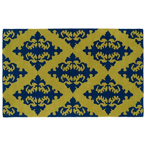 Kaleen Evolution Damask Wool Rug – 8′ x 11′