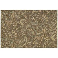Kaleen Home & Porch Rivers End Leaf Indoor Outdoor Rug