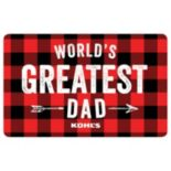 World's Greatest Dad Gift Card