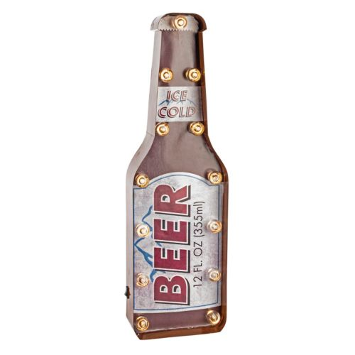 Gerson ''Beer'' Marquee Wall Decor