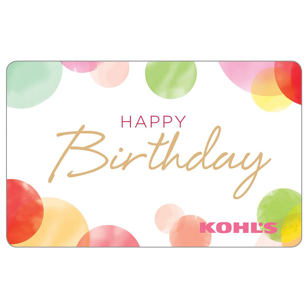 Happy Birthday Dots Gift Card