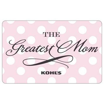 The Greatest Mom Gift Card