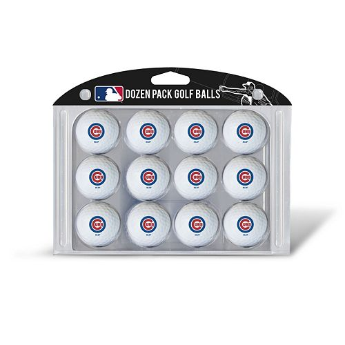 Team Golf Chicago Cubs 12-Pack Golf Balls