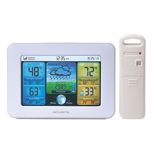 AcuRite Digital Wireless Color Weather Station with Auto Dim