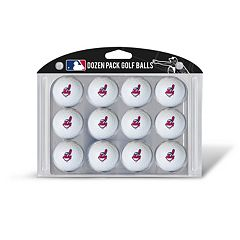 Team Golf Cleveland Indians 12-Pack Golf Balls