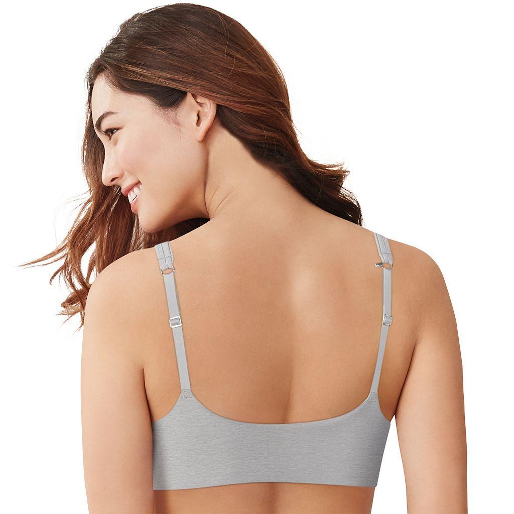 Hanes Ultimate Bra: Soft Front-Close Convertible T-Shirt Bra HU01