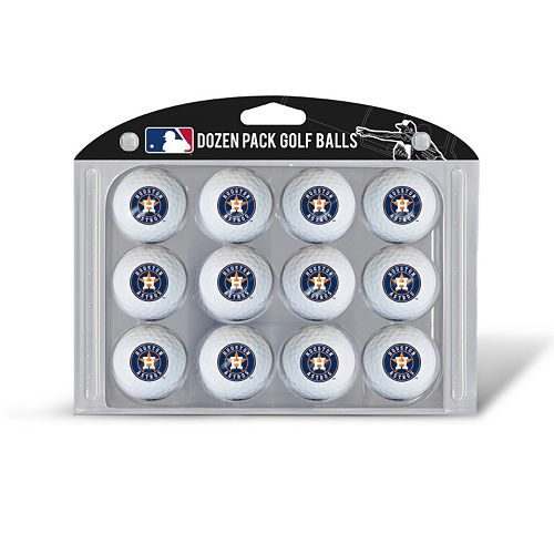 Team Golf Houston Astros 12-Pack Golf Balls