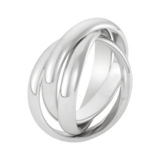 Sterling Silver Interlocking Ring