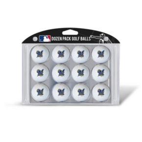 Team Golf Milwaukee Brewers 12-Pack Golf Balls