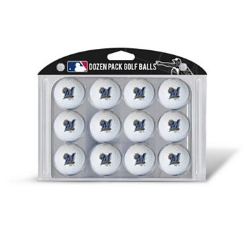 Team Golf Milwaukee Brewers 12-Pack Golf Balls