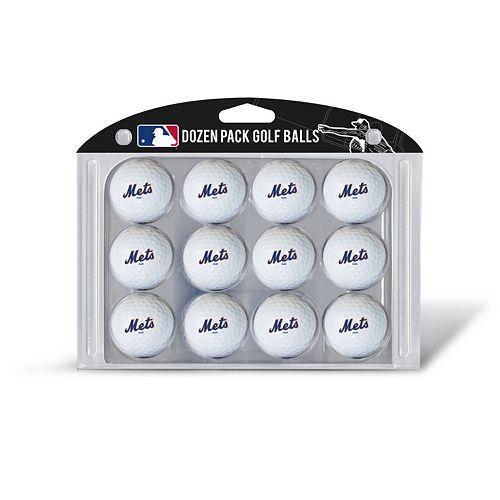 Team Golf New York Mets 12-Pack Golf Balls