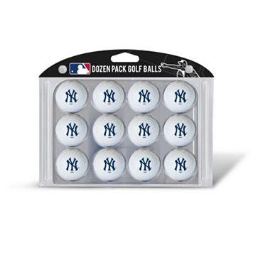 Team Golf New York Yankees 12-Pack Golf Balls
