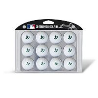 Team Golf Oakland Athletics 12-Pack Golf Balls