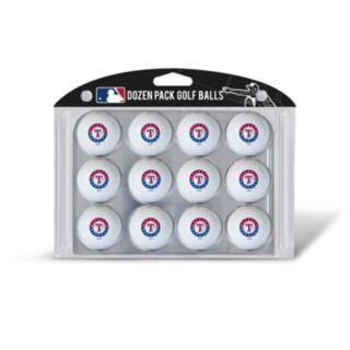 Team Golf Texas Rangers 12-Pack Golf Balls
