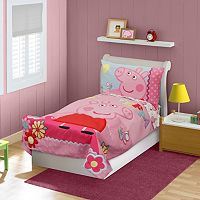 Peppa Pig 4 pc Toddler Bedding Set
