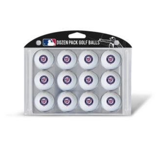Team Golf Washington Nationals 12-Pack Golf Balls