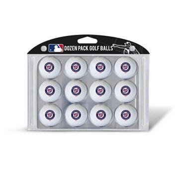 Team Golf Washington Nationals 12-Pack Golf Balls