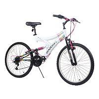 Dynacraft 24-in. Rip Curl Full Suspension Mountain Bike - Girls
