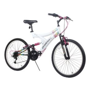 Dynacraft 24-in. Rip Curl Full Suspension Mountain Bike - Girls