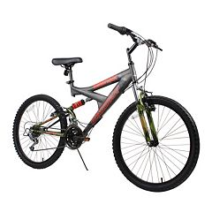 Dynacraft 24 in Gauntlet Full Suspension Mountain Bike - Boys