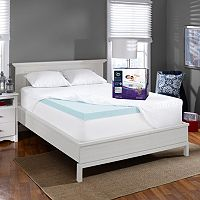Serta PerfecTemp 3'' Gel Memory Foam Deep-Pocket Mattress Topper