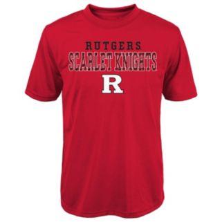 Boys 8-20 Rutgers Scarlet Knights Fulcrum Performance Tee
