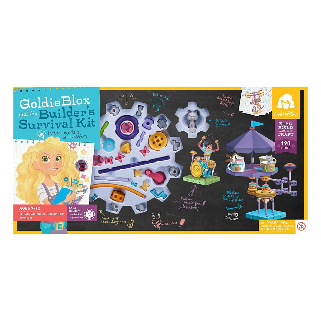 GoldieBlox and the Builder's Survival Kit